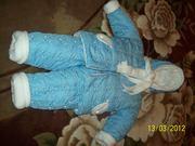 Комплект верхней одежды утепленный на мальчика