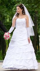 Элегантное свадебное платье для истинных королев
