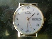Золотые часы Condor кварцевые