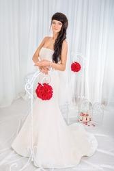Свадебное весеннее платье от дизайнера Vera Wang (ВЕРА ВОНГ)