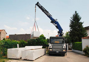 Блоки газосиликатные со склада в Жодино. Доставка-разгрузка Silikat.by