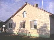 дом с удобствами и участком